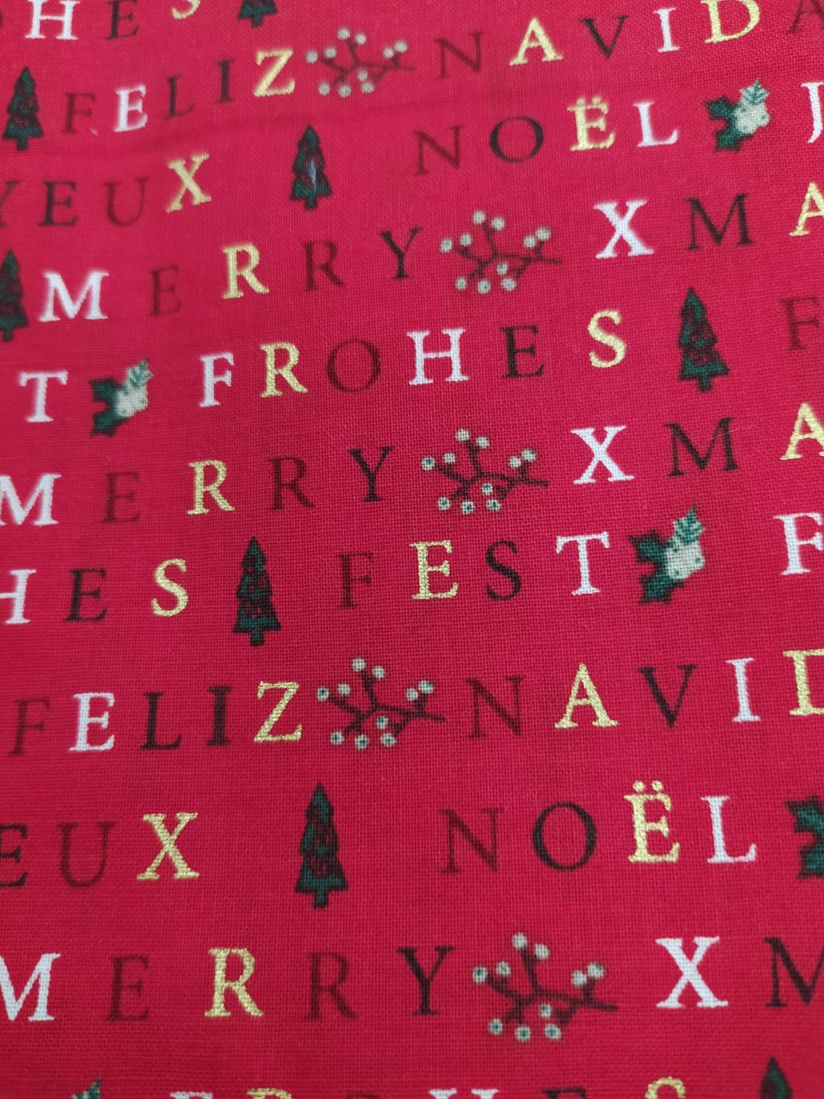 letras con fondo rojo
