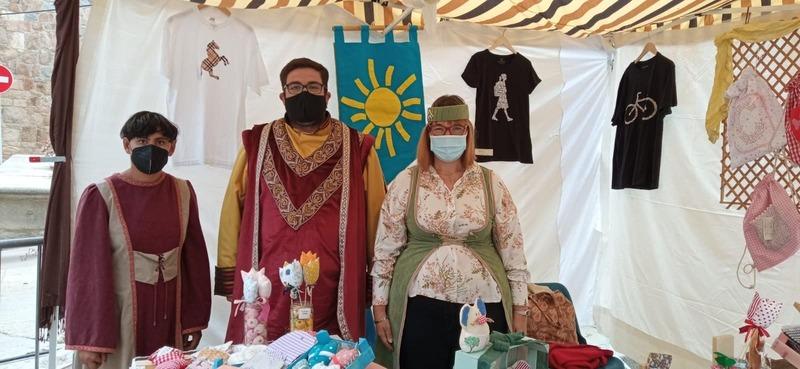 Ayer tuvimos una grata visita en nuestro puesto de la Feria