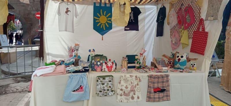 Fundabem, ofrece sus productos hechos a mano en la Feria Medieval de Ávila