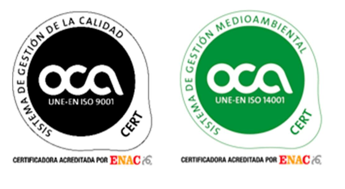 """Fundabem Jardinería """"Prensávila"""" ha conseguido la renovación en las dos normas de calidad ISO 9001:2015 e ISO 14001:2015"""