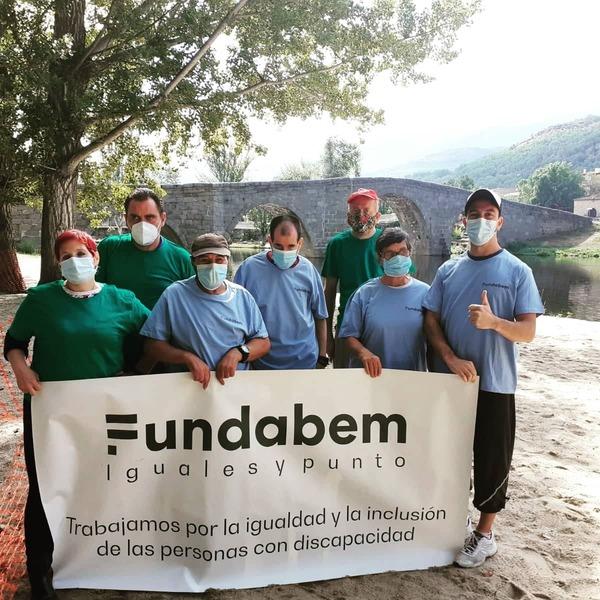 I Jornada de Activismo Medioambiental del Centro Ocupacional Fundabem Navaluenga